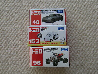 Tomica Diecast vehicles Snoopy Nissan 370Z