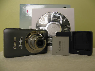 Canon PowerShot ELPH 100 HS / IXUS 115 HS 12.1 MP With 4XO/Z Digital Camera - Gr