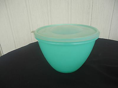 vintage retro tupperware green lettuce container keeper