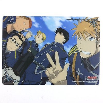 Fullmetal Alchemist Clear Plate Poster mini shitajiki pencil board Japan 14
