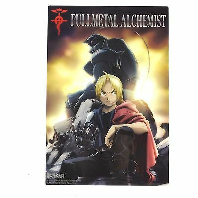 Fullmetal Alchemist Clear Plate Poster mini shitajiki pencil board Japan 35