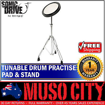 New Sonic Drive Tunable Drum Practise Pad with Stand for Beginner Quiet