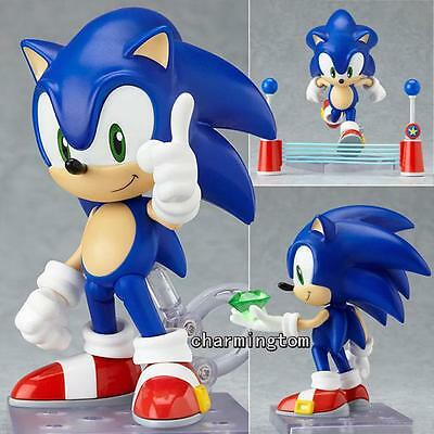 "New Nendoroid Series #214 Action Figure Sonic the Hedgehog Figure 10cm/4"" NIB"