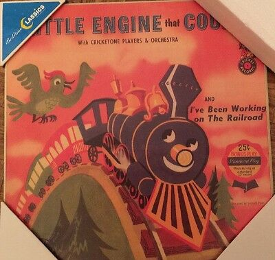 The Little Engine That Could Bedtime Classics Plaques 14x14