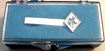 "1960's? CHEVROLET/GM NOS DEALER SALESMAN ""OK"" PROMO TIE CLIP/BAR"