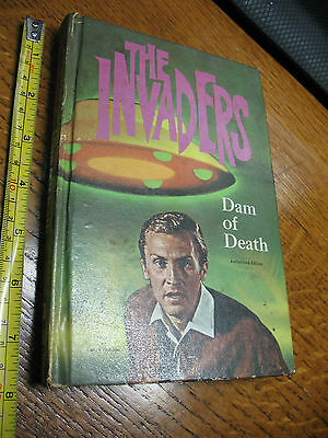 TV  SHOW  THE INVADERS - DAM OF DEATH  1967  JACK PEARL - WHITMAN HC 212 pp