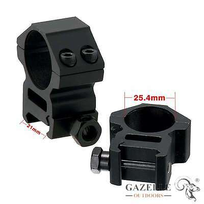 Tactical Flashlight Laser Torch Scope Barrel 20mm Mount Clamp for Surefire In