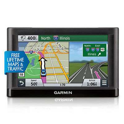 Garmin Nuvi 65LMT 6'' GPS with Lifetime Maps and Traffic Updates