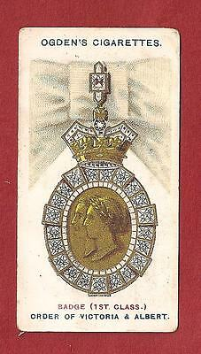 The ROYAL ORDER of VICTORIA and ALBERT 1st Class Badge Chivalry Medal 1907 card