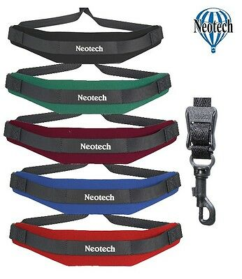 Neotech Saxophone Strap / Sling - Soft Neoprene Swivel Hook - For Alto Sax
