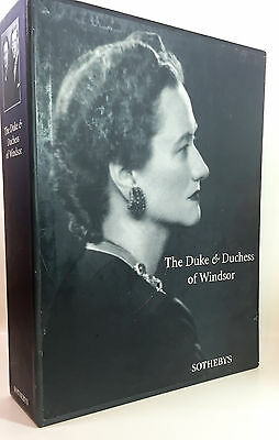 SOTHEBY'S 1997 Auction Books THE DUKE AND DUCHESS OF WINDSOR (2) SET COLLECTION
