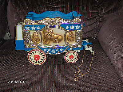 1979 Jim Beam Circus Wagon Decanter
