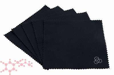 Carbon Collective Suede Microfibre Cloths 5 Pack ~ Applicator Detail Car Nano