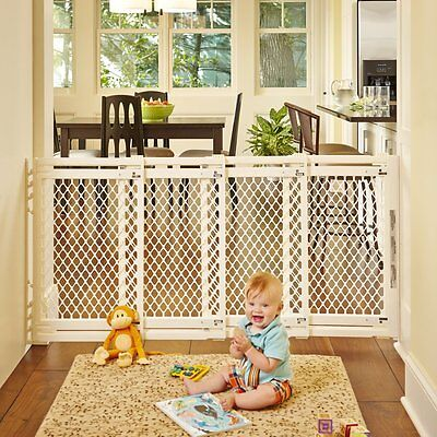 Extra Wide Large North  Baby Pet Child Dog Safety Gate Barrier Doorway