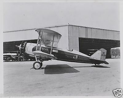 Western Airlines - Boeing Model 40 B 4 In 1930 - Black & White 8 X 10