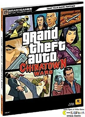 Grand Theft Auto: Chinatown Wars - Bradygames Official Strategy Guide - DS