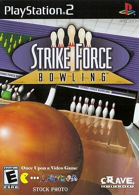 Strike Force Bowling - COMPLETE - Sony PlayStation 2 PS2 - Tested & Guaranteed!
