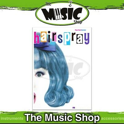 New Hairspray the Musical Vocal Selections Music Book - Piano Vocal