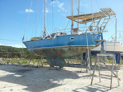 Petit Prince 42 (12.5m) Steel cruising sailboat. Cutter Ketch rig. New Diesel.