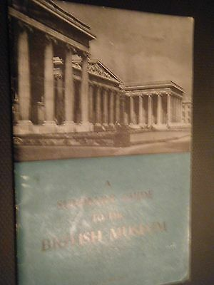 SUMMARY GUIDE TO THE  BRITISH MUSEUM 1961P