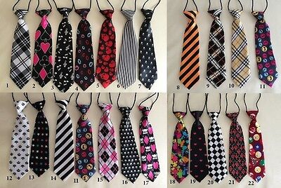 Baby Kids Boys Formal Elastic Easy Neck TIE for Photo Prop Photography