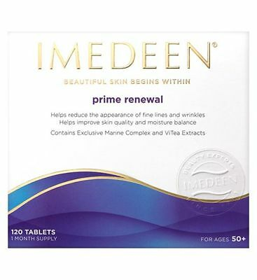IMEDEEN PRIME RENEWAL Skincare 360 tablets, 3 months supply NEW UK exp.12-2018