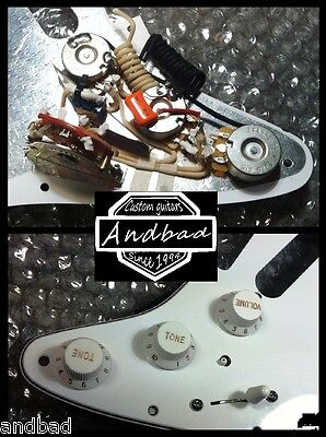 "David Gilmour's Fender Stratocaster Wiring Repro ""Modified"" - ""Black Strat"""