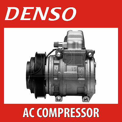 DENSO A/C Compressor - DCP02041 - Air Conditioning Part - Genuine DENSO OE Part