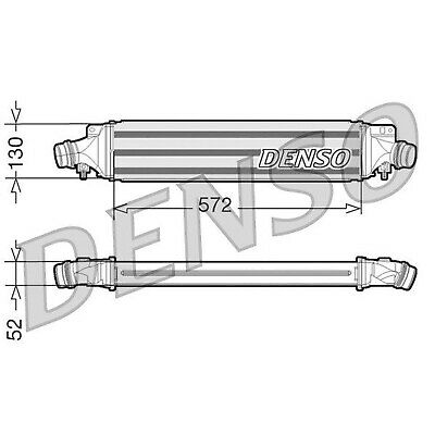 DENSO Intercooler - DIT20003 - Charger - Genuine OE Part