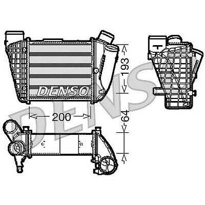 DENSO Intercooler - DIT02004 - Charger - Genuine OE Part