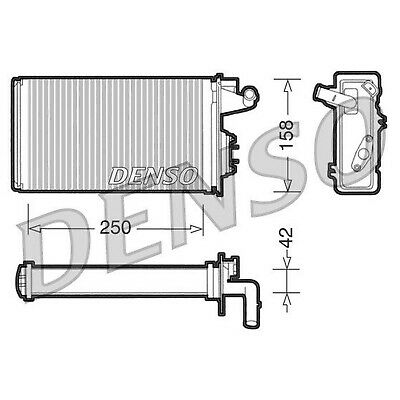 DENSO Heater Core Element - DRR09010 - Interior Heating - Genuine OE Part