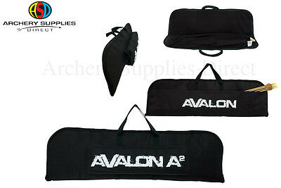 Avalon Archery Take Down Recurve Bow Case Black 80cm W/ Pocket & Carry Handle