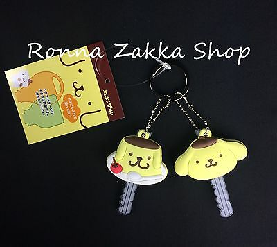 New Japan Licensed Sanrio Original Pompompurin Purin Dog 2 key holder 2 cover
