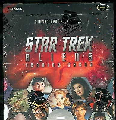 2 Factory Sealed Boxes of 2014 Star Trek Aliens trading cards - Rittenhouse