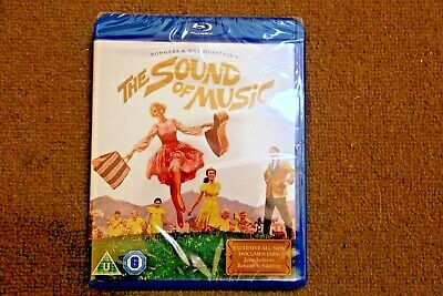 Blu-Ray The Sound Of Music 50Th Anniversary 2  Disc Edition New Sealed Uk Stock