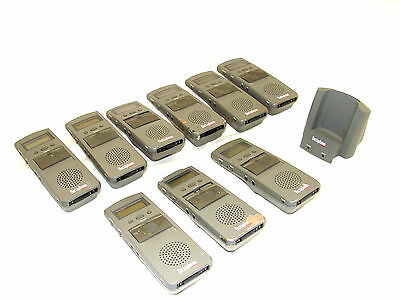 Walkabout 2105 Express Digital Portable Recorder 4.8 Volt (Lot Of 9) ***fair***