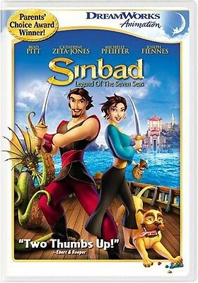 Sinbad: Legend of the Seven Seas (DVD Used Very Good) CLR
