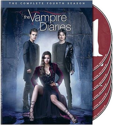 Vampire Diaries: The Complete Fourth Season [5 Discs] (DVD Used Very Good) WS
