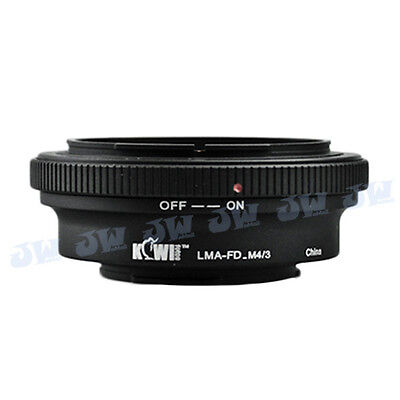 CANON FD LENS TO PANASONIC M4/3 MICRO FOUR THIRDS CAMERA Mount Adapter OLYMPUS