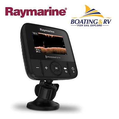 Raymarine Dragonfly 4 DV CHIRP DownVision - Fish Finder - NEW MODEL