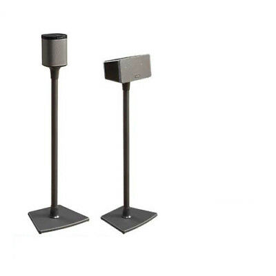 OFFICIAL SANUS WSS1 Speaker Stand Floorstand SONOS PLAY:1 & PLAY:3 Black Single