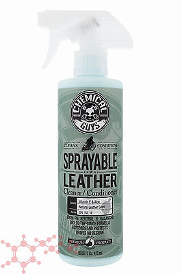 Chemical Guys Sprayable Leather 473ml 16oz ~ Car Interior Cleaner Conditioner