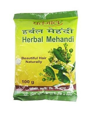 Patanjali Herbal Mehendi | Mehandi Henna Hair Color | 100gm | Buy 3 Get 1 Free