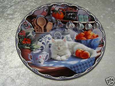 Mabel's Sunny Retreat Warm Country Moments Plate Signed by Mary Ann Lasher 1994