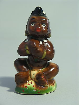 Vintage Japan Black African Native Figurine