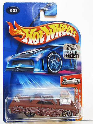 HOT WHEELS 2004 FIRST EDITION TOONED CHEVY IMPALA 1964 #033 FACTORY SEALED