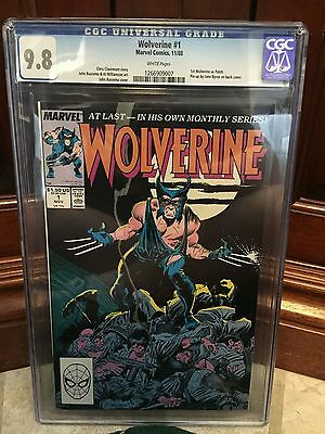 Wolverine #1 Cgc 9.8 Nm/mt 1St Wolverine As Patch Pin-Up On Back Cover (Id 3659)