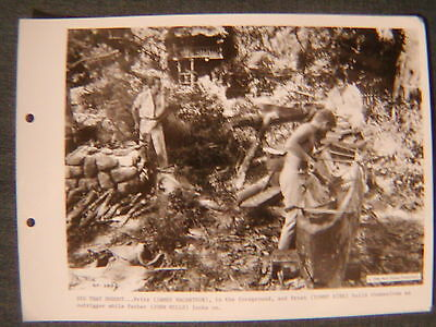 TOMMY KIRK & JAMES MACARTHUR 8x10 VINTAGE PHOTO THE SWISS FAMILY ROBINSON