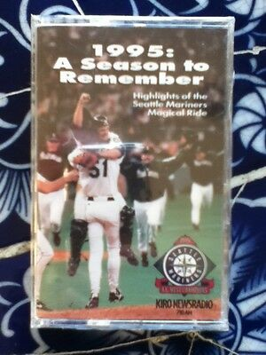 A Season to Remember: 1995 Seattle Mariners Highlights cassette-Dave Niehaus