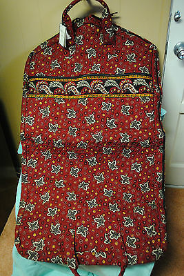 Vera Bradley RED COIN Garment Separates Bag - NWT, Made in USA Rare, Travel